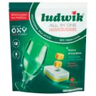 Ludwik All in one Tabletki do zmywarek grapefruit 1,44 kg (80 sztuk)