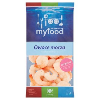MyFood Seafood Boiled Peeled with Tail Shrimp 400 g