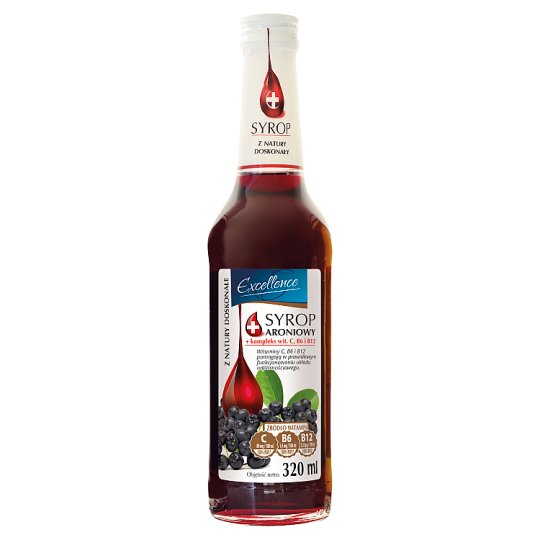 Excellence Chokeberry Syrup 320 ml