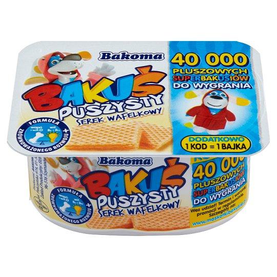 Bakoma Bakuś Puszysty serek wafelkowy 90 g