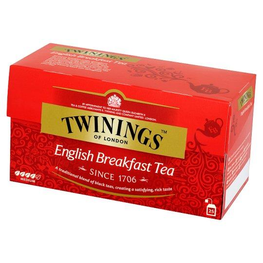 Twinings English Breakfast Czarna herbata 50 g (25 torebek)