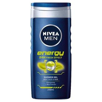 NIVEA MEN Energy Żel po prysznic 250 ml