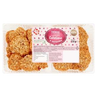 Tesco Cereal Biscuits with Cranberry 250 g