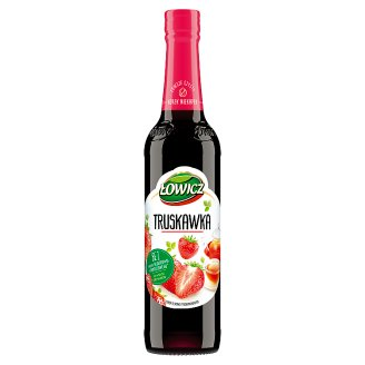 Łowicz Syrup with Strawberry Flavour 400 ml