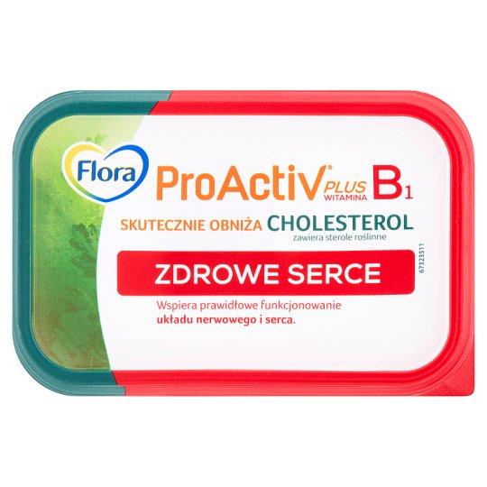Flora ProActiv Zdrowe serce Tłuszcz roślinny do smarowania 400 g