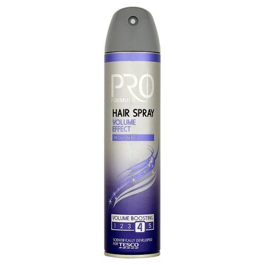 Tesco Pro Formula Volume Effect Hair Spray 250 ml