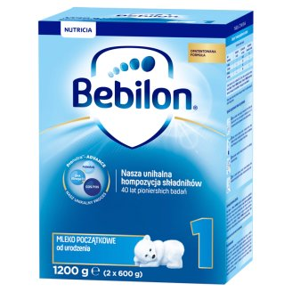 Bebilon 1 with Pronutra Powdered Milk for Infants from Birth 1200 g (2 Pieces)