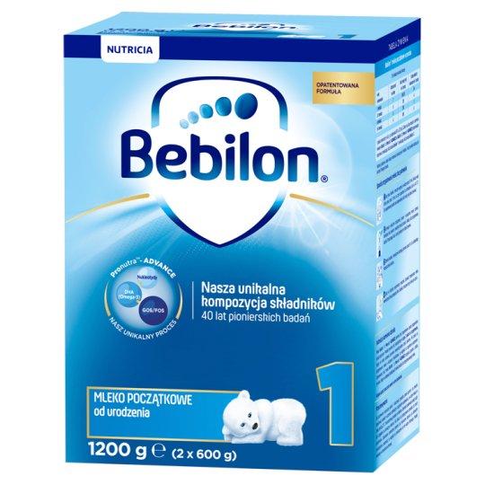 Bebilon 1 Pronutra-Advance Mleko początkowe od urodzenia 1200 g (2 x 600 g)