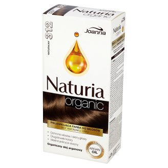 Joanna Naturia Organic Permanent Hair Color Cream 312 Natural