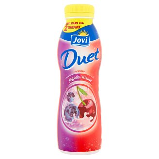 Jovi Duet Blueberry and Cherry Flavour Yoghurt Drink 350 g