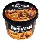Manhattan Classic Lody czekoladowo-karmelowe z siekanymi prażonymi orzechami ziemnymi 1,4 l