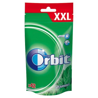 Orbit Spearmint XXL Sugarfree Chewing Gum 58 g (42 Pieces)