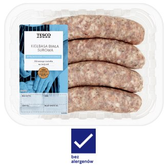 Tesco Raw White Sausage 450 g