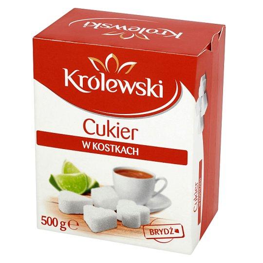 Cukier Królewski Cukier w kostkach brydż 500 g (180 sztuk)