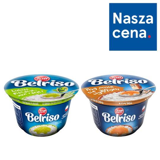 Zott Belriso Milk Dessert with Rice and Strawberry Sauce 200 g