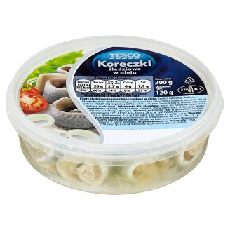 Tesco Herring Rolls in Oil 200 g