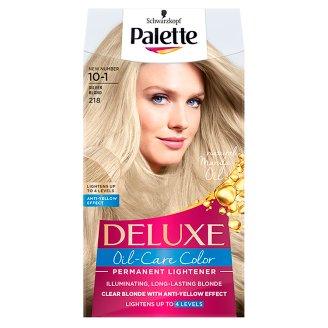 Palette Deluxe Oil-Care Color Farba do włosów Srebrzysty blond 218