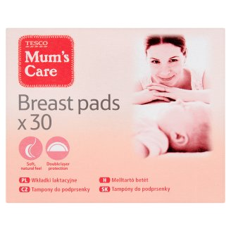 Tesco Mum's Care Breast Pads 30 Pieces