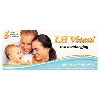 LH Vitam Domowy test owulacyjny 5 sztuk