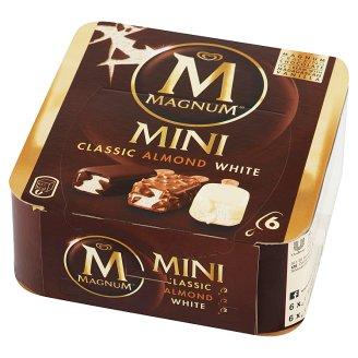 Magnum Mini Classic Almond White Ice Cream 330 ml (6 Pieces)