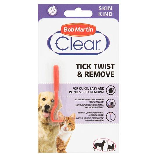 Bob Martin Clear Środek usuwający kleszcze obkręć & usuń dla psów i kotów