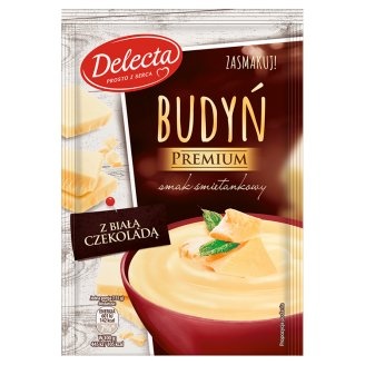 Delecta Premium Pudding Cream Flavoured with White Chocolate 47 g