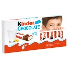 Kinder Chocolate Milk Chocolate Bars with Milk Filing 100 g (8 x 12.5 g)