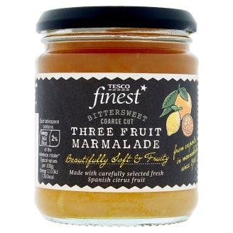 Tesco Finest Marmolada z cytryn grejpfrutów i pomarańczy 340 g