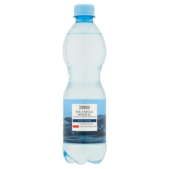 Tesco Polanicka Mineral Naturalna woda mineralna niegazowana 500 ml
