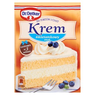 Dr. Oetker Creamy Flavour Cream for Cakes 120 g