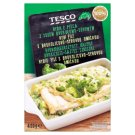 Tesco Roast Fish with Broccoli and Cheese Sauce 400 g