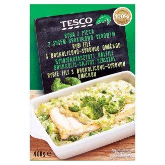 Tesco Ryba z pieca z sosem brokułowo-serowym 400 g