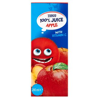 Tesco Apple 100% Juice 200 ml