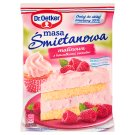 Dr. Oetker Raspberry Flavoured with Fruit Pieces Sour Cream Filling 86 g