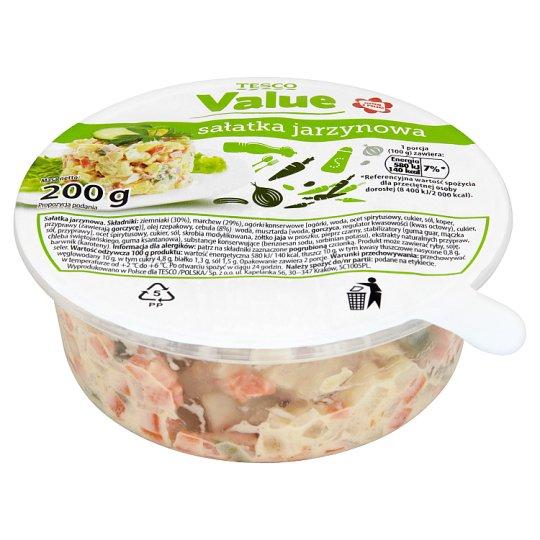 Tesco Value Vegetable Salad 200 g