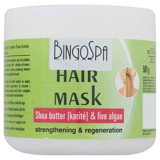 BingoSpa Maska do włosów z masłem Shea karité i pięcioma algami 500 g