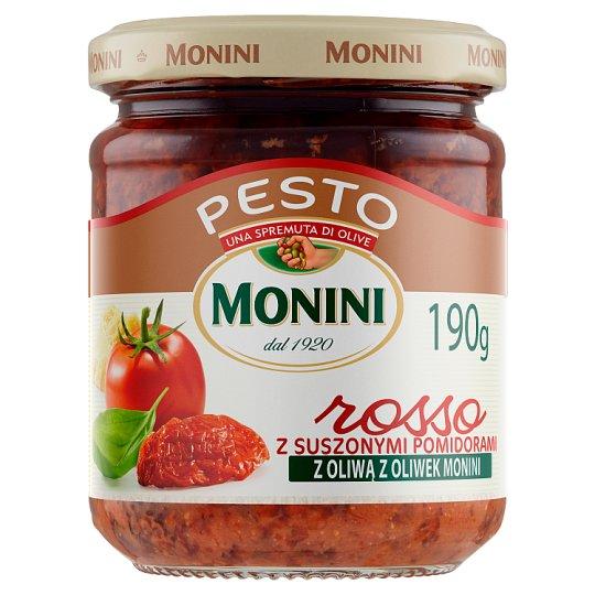 Monini Sos Pesto Rosso z suszonych pomidorów 190 g