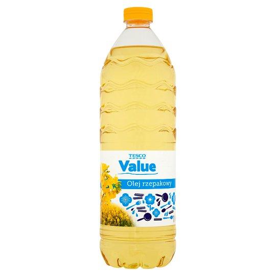 Tesco Value Olej rzepakowy 1 l