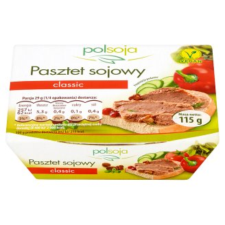 Polsoja Classic Soy Pate 115 g