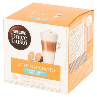 Nescafé Dolce Gusto Latte Macchiato Kawa w kapsułkach 168 g (16 sztuk)