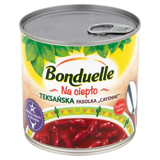 Bonduelle Na ciepło Texas Cayenne Beans 430 g