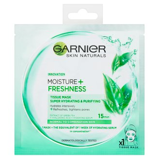 Garnier Skin Naturals Mousture + Freshness Maska kompres 32 g