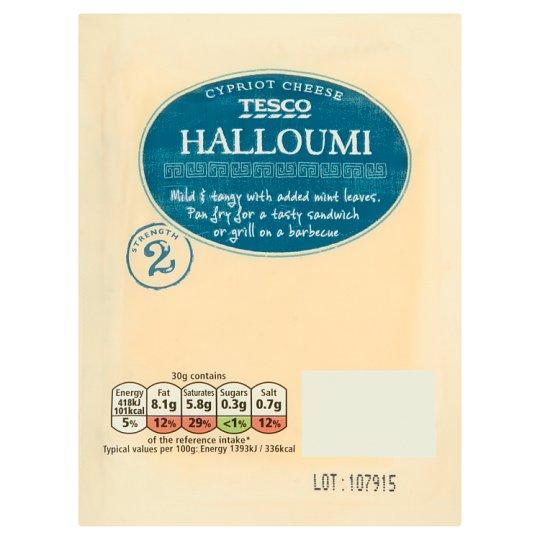 Tesco Halloumi Półtłusty ser 250 g