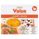 Tesco Value Chicken Noble Broth 60 g (6 Pieces)