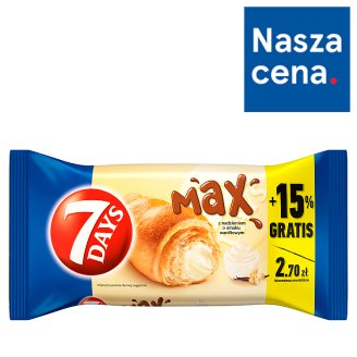 7 Days Max Croissant with Vanilla Flavour Cream 110 g