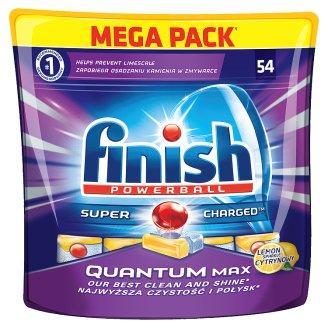 Finish Quantum Max Lemon Tabletki do zmywarki 837 g (54 sztuki)