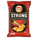 Lay's Strong Pikantne chipsy karbowane o smaku ostre chilli 150 g