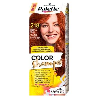 Palette Color Shampoo Coloring Shampoo Glossy Amber 218