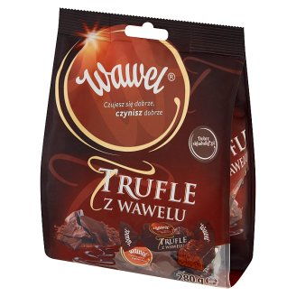 Wawel Truffles in Chocolate Coated Candies with Rum Flavour 280 g