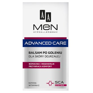 AA Men Hypoallergenic Advanced Care After Shave Balm 100 ml